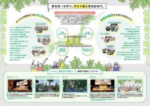 学生環境団体 新入生勧誘パンフレット画像