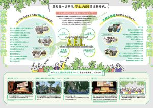 環境系学生サークル パンフレット画像